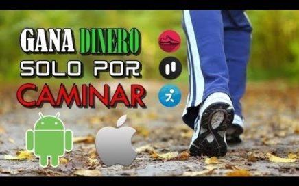 3 APPS PARA GANAR DINERO SOLO POR CAMINAR | COMO GANAR DINERO CAMINANDO
