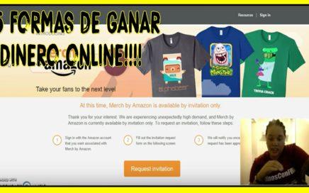 5 Formas De Ganar Dinero Online Facil - BebaDinero