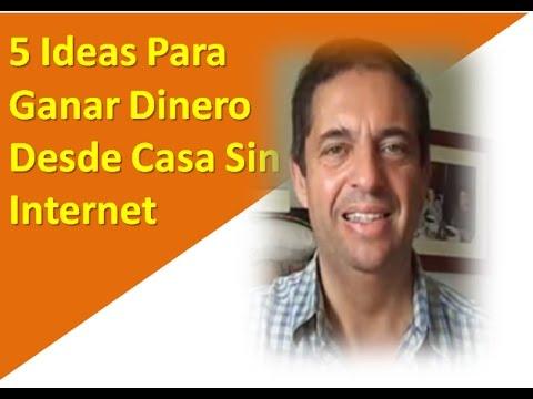 5 Ideas Para Ganar Dinero Desde Casa Sin Internet en 2017