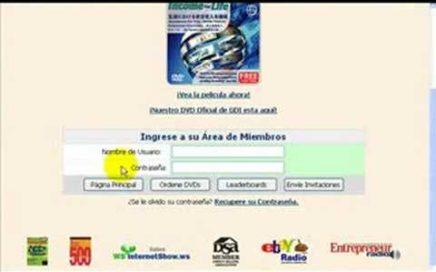 Acceso Oficina Virtual GDI-Trabajar desde casa-Ganar dinero por internet-Teletrabajo