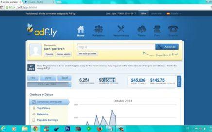 Adfly como usar adfly para ganar dinero rapido 2016 - 2017