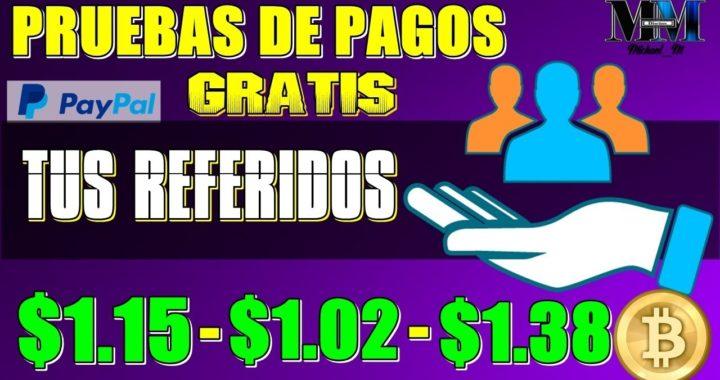 AFILIADOS PARA GANAR DINERO CON PRUEBAS DE PAGOS $1.38 ( MÍNIMO PAGO $1.00 ) PAYPAL O BTC
