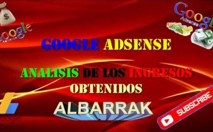 ANALISIS DE RESULTADOS OBTENIDOS EN GOOGLE ADSENSE!!!1 26OCT2017!!! PARECE MAGICO SIGUE SUBIENDO!!!