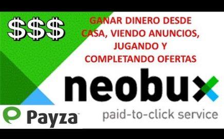 ANALISIS Y TRUCOS NEOBUX || GANA DINERO DESDE CASA VIENDO ANUNCIOS