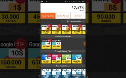 Aplicacion app nana para ganar dinero facil y rapido