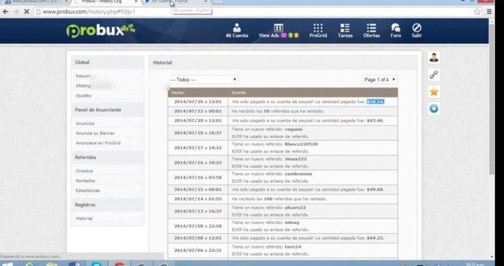 Aprende a Ganar Dinero Online con Probux Comprobante de Pago