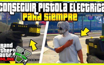 """APURATE!! CONSEGUIR PISTOLA ELECTRICA PARA SIEMPRE """"GTA V ONLINE"""" THE STUN GUN"""