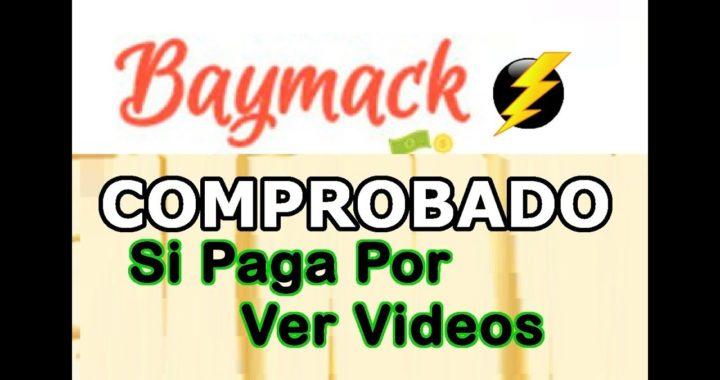 Baymack PAGA por Paypal 2017 GANA DINERO VIENDO VIDEOS