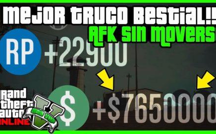 "BESTIAL TRUCO DE DINERO INFINITO $5.500.000 EN 24 HORAS ""GTA 5 ONLINE"" AKF MONEY BESTIAL"