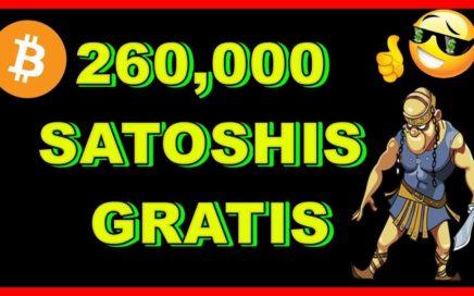 BITSWARRIOR | 260,000 SATOSHIS GRATIS !! GANA BITCOINS GRATIS JUGANDO !! PRUEBA DE PAGO !! APROVECHA