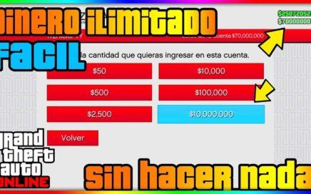 """*BRUTAL* EL MEJOR TRUCO DINERO INFINITO FACIL """"GTA V OLINE 1.41"""" AFK MONEY & RP GLITCH!"""