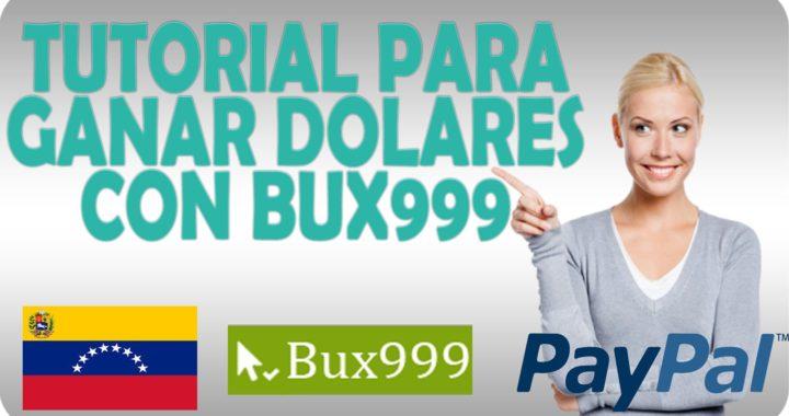 Bux999 Nueva Pagina para Ganar Dinero por Internet NO FUNCIONA!!!