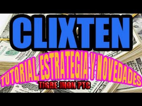 BUXTEN o CLIXTEN PAGA TUTORIAL Y ESTRATEGIA DE COMO GANAR DINERO POR INTERNET | CLIXTEN PTC | BUXTEN