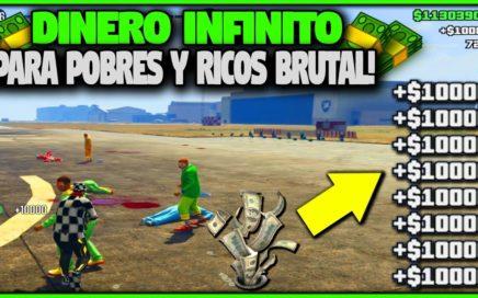 CAPTURA! DINERO INFINITO PARA RICOS Y POBRES BRUTAL! GTA 5 1.41 MONEY LOBBY