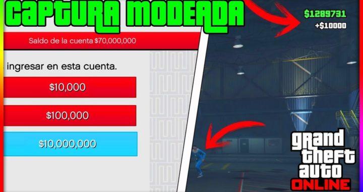 ¡CAPTURA MODEADA! COMO [GUARDAR/JUGAR] CAPTURAS MODEADAS EN GTA V ONLINE 1.41   DINERO INFINITO