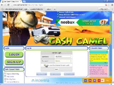 cashcamel la nueva forma de ganar dinero rapido