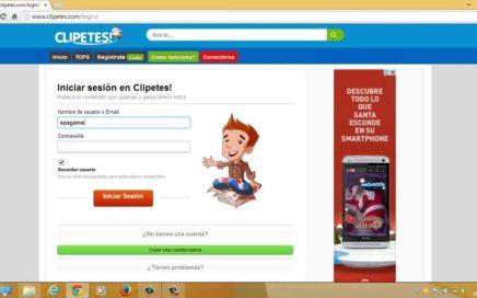 Clipetes! compartir y ganar dinero extra, plataforma similar a Taringa!