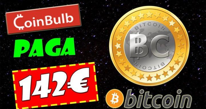Coinbulb Paga 142€ en Bitcoin | Cómo Ganar Bitcoin Gratis | Gokustian