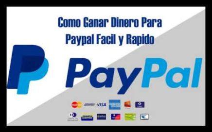 Como conseguir $10 en menos de 1 hora para PayPal 2017