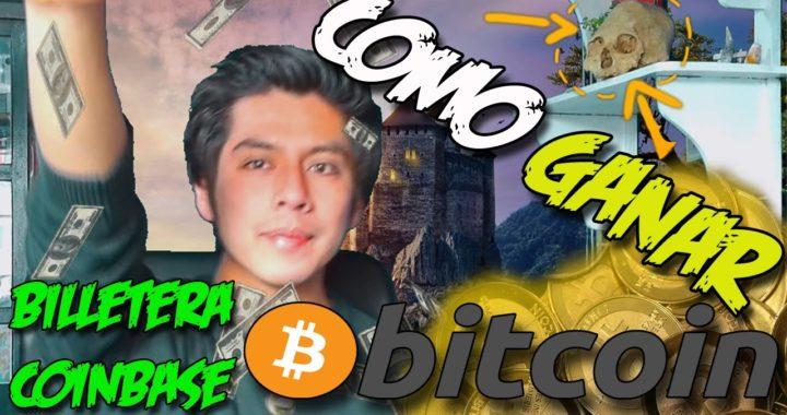 COMO CREAR UNA BILLETERA BITCOIN 2017 | Como Ganar bitcoin | Coinbase