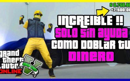 """COMO DOBLAR TU DINERO !! TRUCO INCREIBLE EN """"GTA V ONLINE"""" [ PS4 - XBOX ONE ] 1.41"""