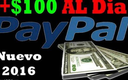 Como ganar $ 100 diarios desde casa Nuevo 2016