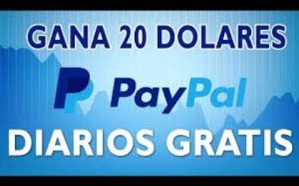 Como Ganar 20 dolares Semanal A Paypal O Bitcoin 100% Verdadero (sin invertir y sin ningún riego)