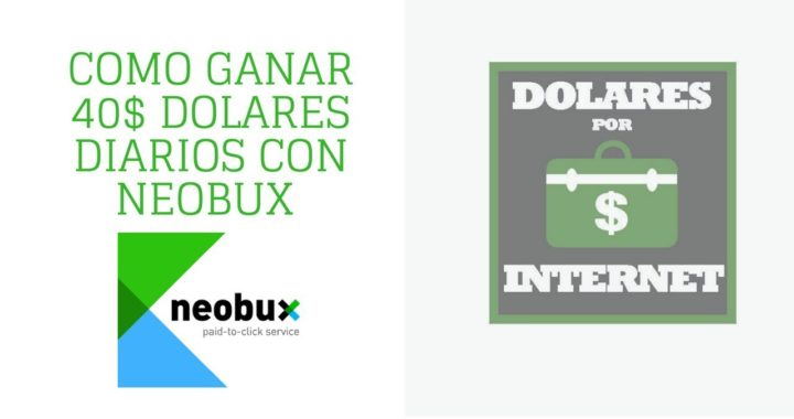 Como ganar 40$ dolares diarios con Neobux Extrategia y Registro