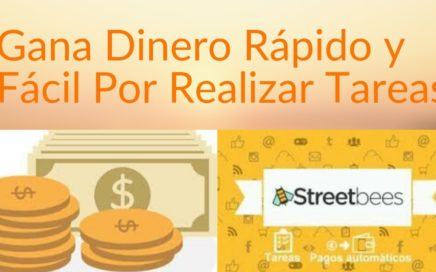 Como Ganar Dinero a Paypal Por Realizar Tareas Sencillas | Streetbees, Dinero rápido y fácil