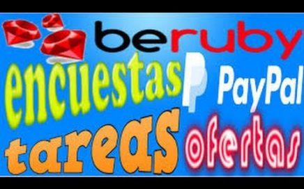 COMO GANAR DINERO CON BERUBY 2016 PRUEBA DE PAGO PARA PAYPAL
