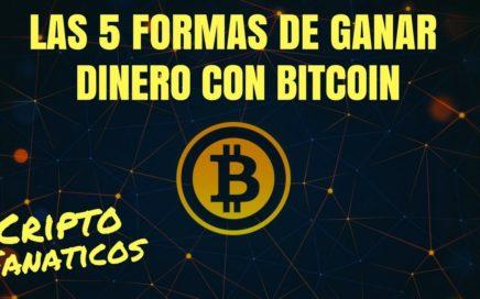 Como Ganar Dinero Con Bitcoin [VER VIDEO]