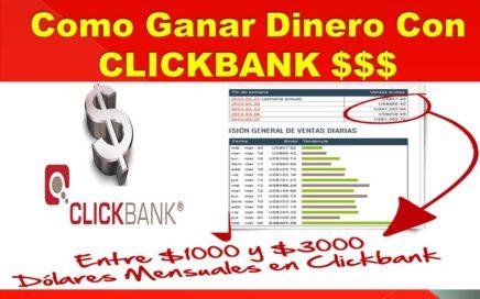 Como Ganar Dinero Con CLICKBANK 2017 | Trabajos Desde Casa