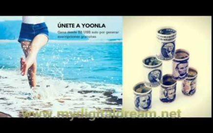Como ganar dinero con Yoonla Español Video 1