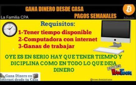 COMO GANAR DINERO DESDE CASA CON CPA