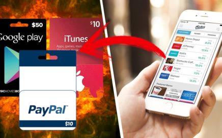 Como Ganar Dinero en Android   IOS (Gift Cards)   La Mejor App que si Funciona   2017/2018 Efectivo
