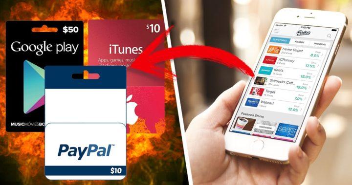 Como Ganar Dinero en Android | IOS (Gift Cards) | La Mejor App que si Funciona | 2017/2018 Efectivo
