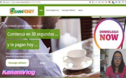 ¿Como Ganar Dinero en Earn Money Network | Tutorial en Español | Registro Gratis y $10 USD de Regalo