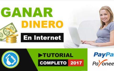 COMO GANAR DINERO EN INTERNET DESDE CUALQUIER PAIS CON SHORTEST TUTORIAL COMPLETO 2017