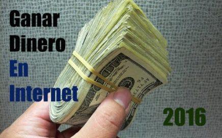 COMO GANAR DINERO en internet: HACER DINERO ONLINE en 2016 [ACTUALIZADO]