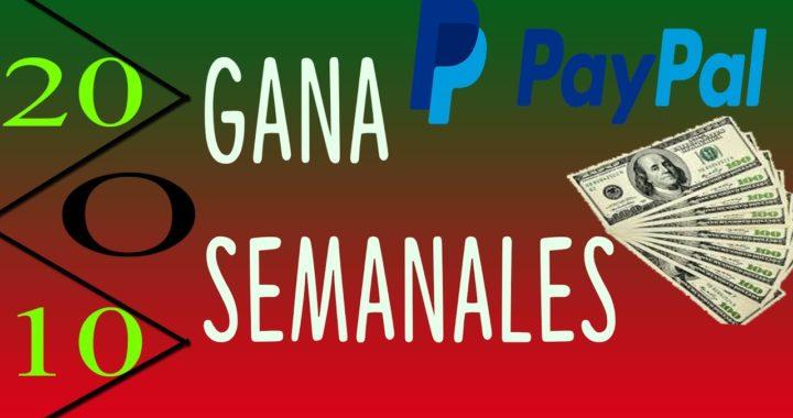 COMO GANAR DINERO EN INTERNET PARA PAYPAL 2017 | 20 USD A LA SEMANA ABRIL