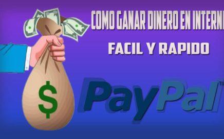 Como ganar dinero en Internet rapido y Legal |Para tu PayPal!| 2016 Octubre