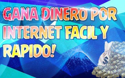 COMO GANAR DINERO EN INTERNET Y COBRAR AL INSTANTE PAYPAL 2017 NOVIEMBRE
