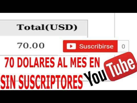 Como ganar dinero en youtube sin Suscriptores