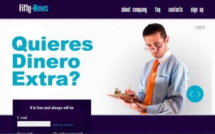 Como ganar dinero extra con fifty news 2017