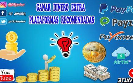 COMO GANAR DINERO EXTRA CON PLATAFORMA PTC Y BITCOIN | RECOMENDADAS !