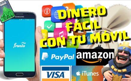 CÓMO GANAR DINERO FÁCIL CON TU MÓVIL - Sin apps engañosas/100% seguro