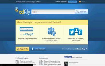 Como Ganar Dinero Facil Cortando Links(url) Con ADfly 2015 funciona 100%
