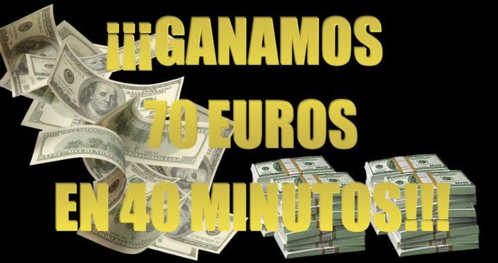 Como ganar dinero facil en Banc de Binary - 70€ en 40 minutos