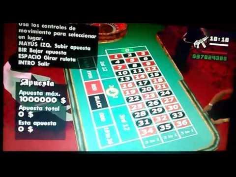 Como ganar dinero fácil en el casino en gta san Andreas SIN TRUCOS!! VIPROX