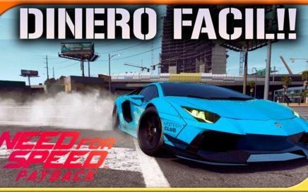 COMO GANAR DINERO FACIL! | NEED FOR SPEED PAYBACK #23 | DEWRON